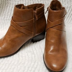 Brown Ankle Boots Karen Scott